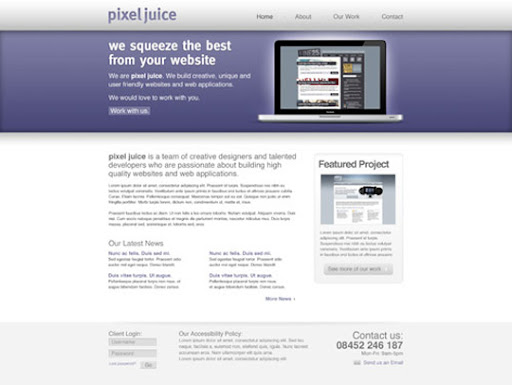 Create+a+Clean+Modern+Website+Design+in+Photoshop 40 PSD to XHTML, CSS Tutorials to Create Web Layouts