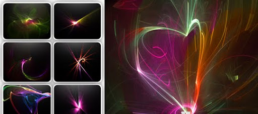 STAR LIGHT BRUSHES PACL 1000+ Beautiful Abstract Light Photoshop Brushes for Light Effects