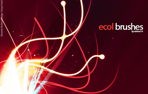 Ecol Brushes by rubina119 1000+ Beautiful Abstract Light Photoshop Brushes for Light Effects