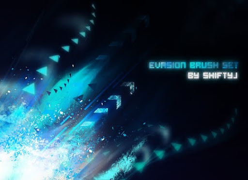 Evasion Brush Set by ShiftyJ 1000+ Beautiful Abstract Light Photoshop Brushes for Light Effects