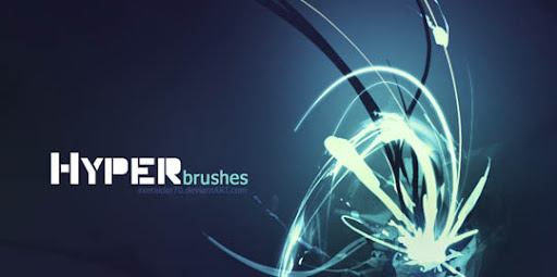 Hyper Brushes by Axeraider70 1000+ Beautiful Abstract Light Photoshop Brushes for Light Effects