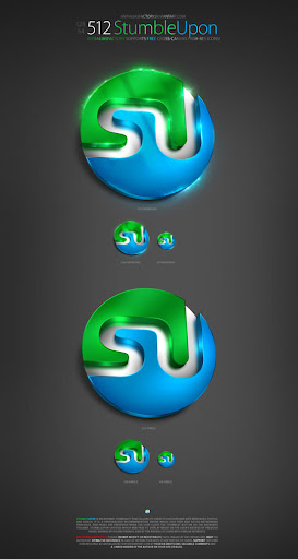 stumbleupon+antialiasfactory+chethstudios Stunning Detailed Social Networks Icon Series by ~AntiAliasFactory