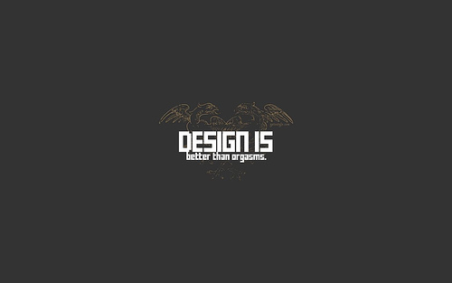 "Design+is+better+than.. 70+ Super Creative Wallpapers ""About Design"""