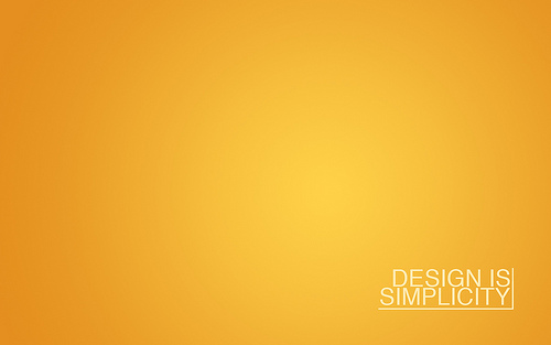 "Design+Is+Simplicity 70+ Super Creative Wallpapers ""About Design"""