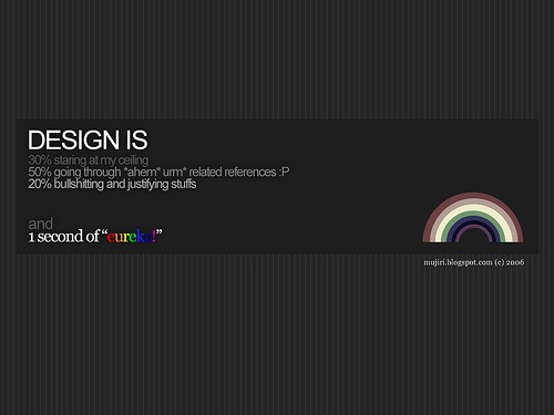"designis 70+ Super Creative Wallpapers ""About Design"""