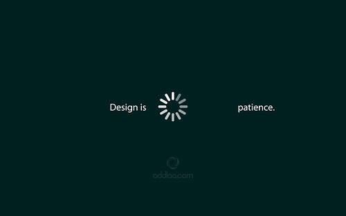 "Patience 70+ Super Creative Wallpapers ""About Design"""
