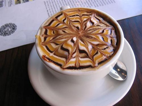 Delicious Coffee Latte Art - Too Beautiful to Drink Foam Cream