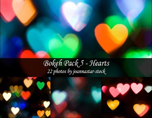 DeviantArt+Bokeh+textures+By+%7EJoannastar Stock Valentines Day Inspired: Design Resources Roundup
