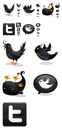 Black Twitter icons by iconhive Fresh and Exceptional Twitter Bird Design Icons