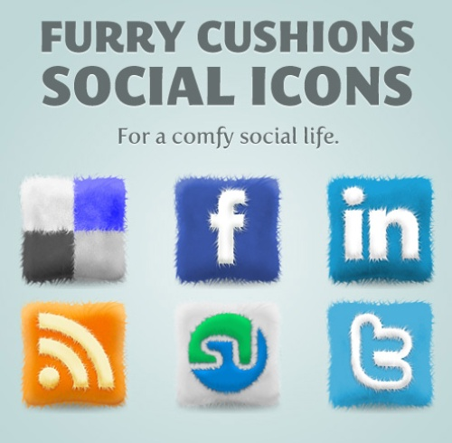furry release 10 Fresh and Unique High Quality Social Network Icon Sets