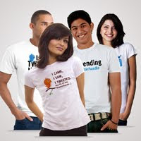 Contest +Twitter+T shirts+giveaway+buy Contest: Win Customised Twitter T Shirts!