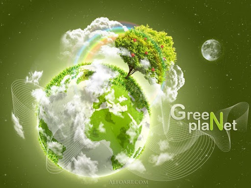 Earth Day  Green Planet  by AlexandraF+DA Inspirational Posters and Advertisements Dedicated to Earth Day | Part 1