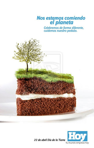 Earth Day by raphael sepulveda+deviantart Inspirational Posters and Advertisements Dedicated to Earth Day | Part 1