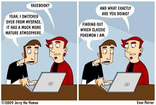 Facebook by EvanPearTree 40+ Hilarious Facebook Comic Strips
