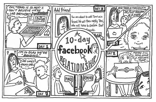 A+10+Day+Facebook+Relationship 40+ Hilarious Facebook Comic Strips
