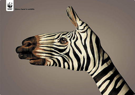 zebra 27 Alarming Advertisements Dedicated to Earth Day | Part  2