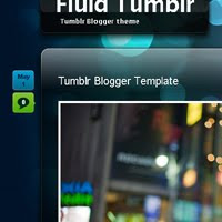 Fluid Blogger template tumblr theme blogspot download