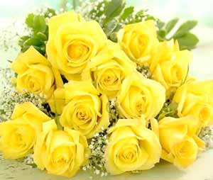 image of yellow roses FRIENDSHIP DAY