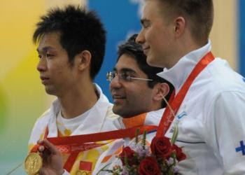 INDIA WINS GOLD  Abhinav Bindra