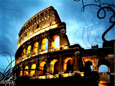Colosseum Monuments in a different taste