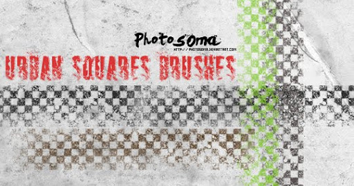 Urban Squares brushes by photosoma A Huge Compilation of 1000+ High Quality Adobe Illustrator Brushes