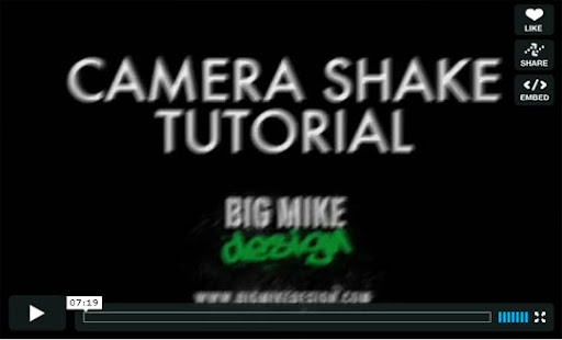 Camera+Shake+Tutorial Ultimate Round Up of Exceptional Cinema 4D Tutorials and Screencasts