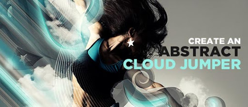 Create+an+Abstract+Cloud+Jumper+in+Photoshop 75+ Fresh Photoshop Tutorials From 2010