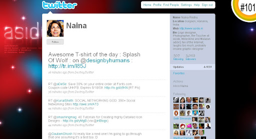 Naina 100+ Incredible Twitter Backgrounds