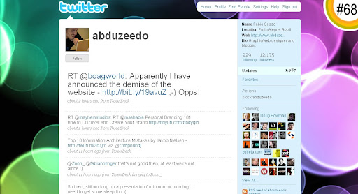 abduzeedo 100+ Incredible Twitter Backgrounds