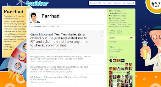 farrhad 100+ Incredible Twitter Backgrounds