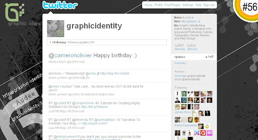 graphicidentity 100+ Incredible Twitter Backgrounds