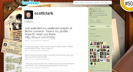scottclark 100+ Incredible Twitter Backgrounds