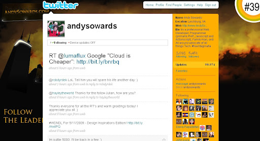 andysowards 100+ Incredible Twitter Backgrounds