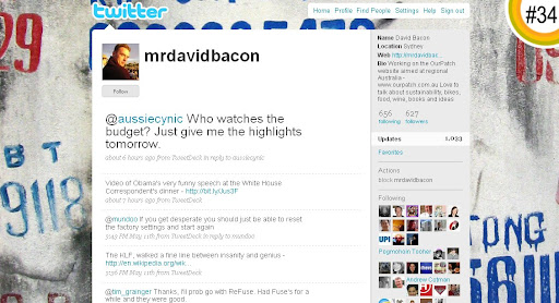 mrdavidbacon 100+ Incredible Twitter Backgrounds