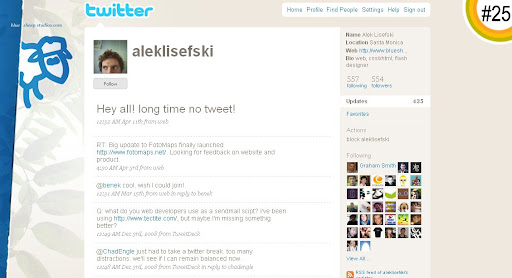 aleklisefski 100+ Incredible Twitter Backgrounds