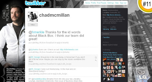 chadmcmillan 100+ Incredible Twitter Backgrounds