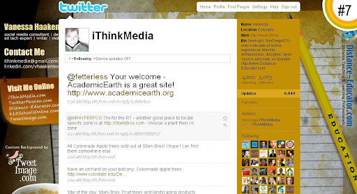 iThinkMedia 100+ Incredible Twitter Backgrounds