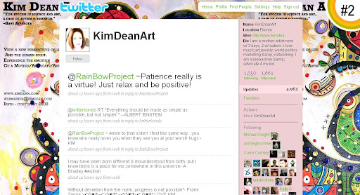 KimDeanArt 100+ Incredible Twitter Backgrounds