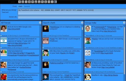 dark+blue Gorgeous TweetDeck Color Schemes