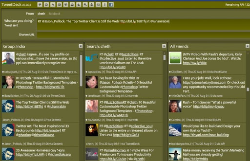 dark+green Gorgeous TweetDeck Color Schemes