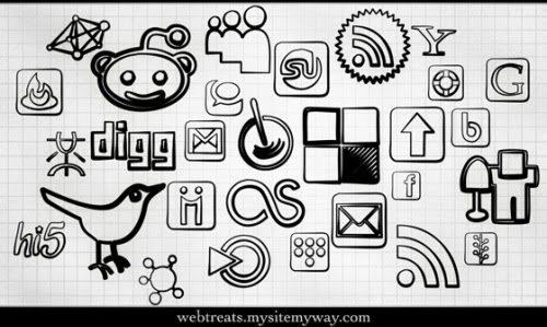 social+icons+download+%284%29 Social Network Icons Reloaded