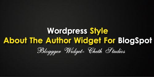 "Wordpress+Style+About+The+Author+Widget+For+BlogSpot HOW TO: WordPress Style ""About The Author"" Widget For Blogger"