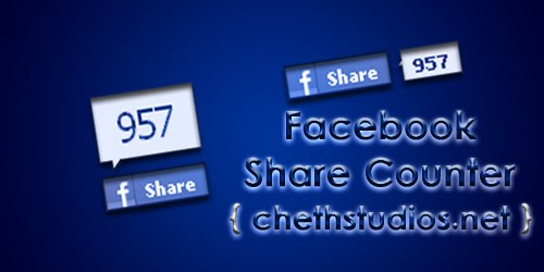 official+facebook+share+counter chethstudios HOW TO: Official Facebook Share Counters for Blogs