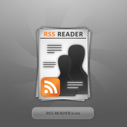 RSS READER Icon by twinware Fresh, Free and Gorgeous RSS/Feed Icons