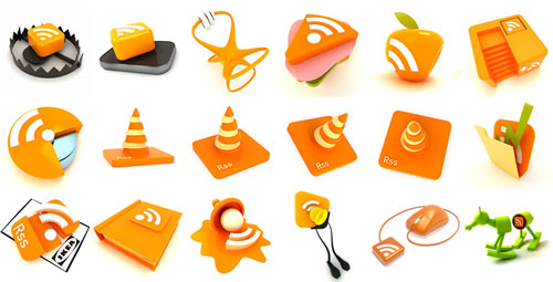 deviantdark Fresh, Free and Gorgeous RSS/Feed Icons