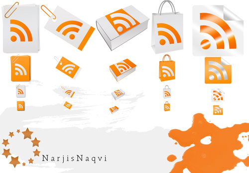 narjisnaqvi Fresh, Free and Gorgeous RSS/Feed Icons