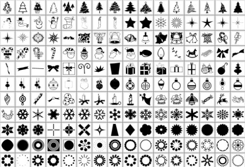 Xmas Shapes Design + Christmas = oh my! Inspirational Resources!