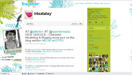 irisatalay Inspiration Reloaded!   44 Best Twitter Background Themes