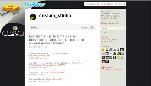 creaam studio Inspiration Reloaded!   44 Best Twitter Background Themes