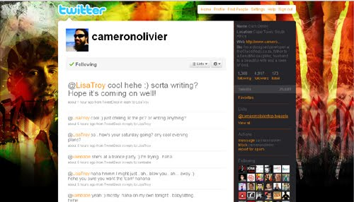 cameronoliver Inspiration Reloaded!   44 Best Twitter Background Themes